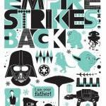 Star Wars - Empire strikes back pos..
